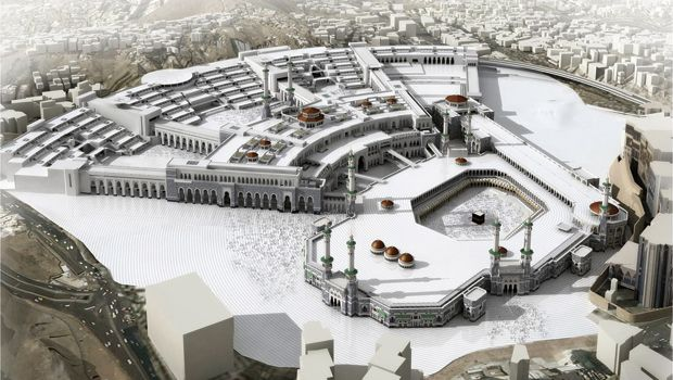 2. Grand Mosque - Holy Haram Mosque Expansion<br/>source - hajhouse.com