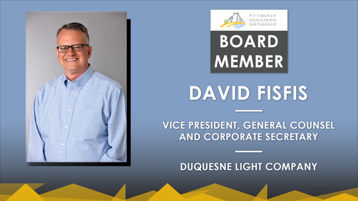 Preview: DLC's David Fisfis Named to the Pittsburgh Downtown Partnership Board of Directors