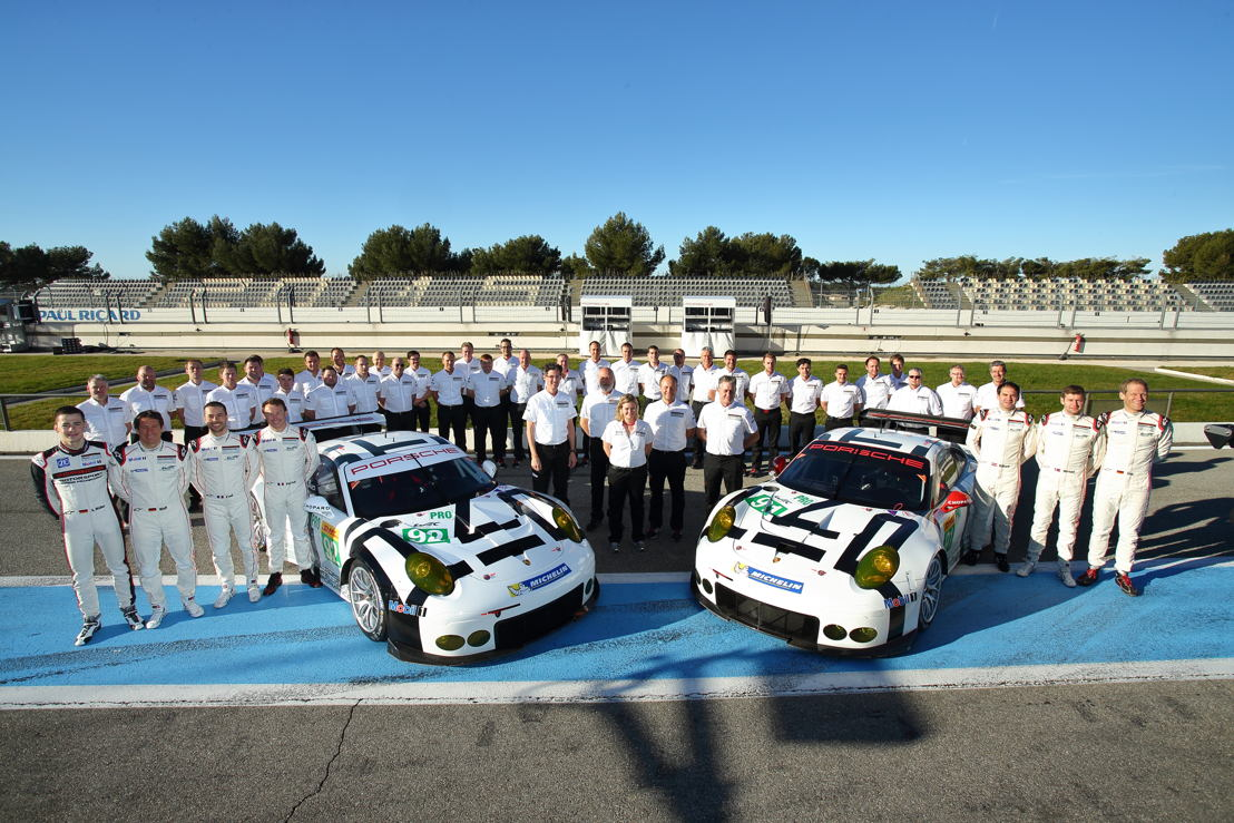 Porsche 911 RSR, Porsche Team Manthey