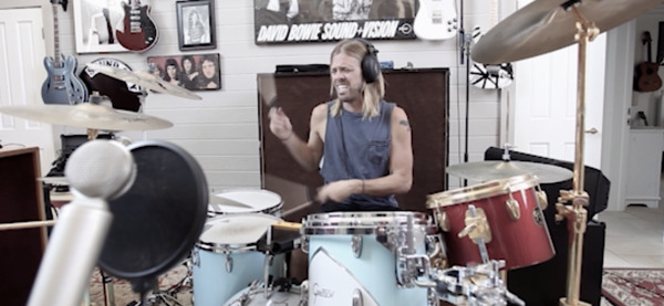 Preview: One Man Show: Taylor Hawkins Hones Solo Demos with BAE Audio