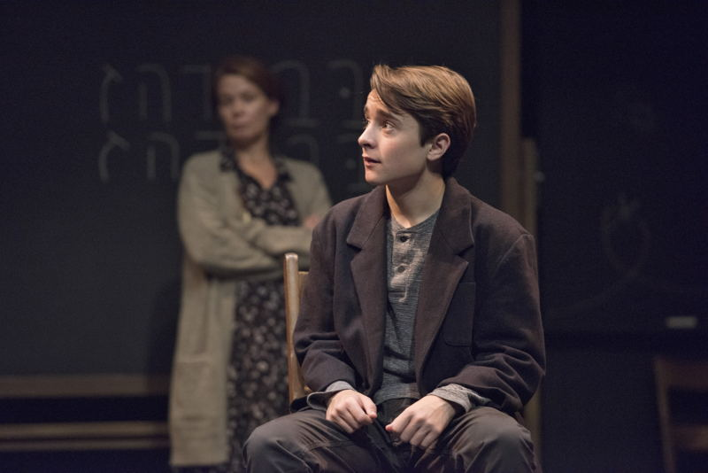 Zander Eke (foreground) and Kerry Sandomirsky in The Children's Republic by Hannah Moscovitch / Photos by David Cooper