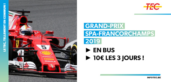 Preview: Grand-Prix Spa-Francorchamps 2019