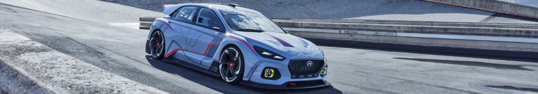 Hyundai onthult High-Performance N Concept op het autosalon van Parijs