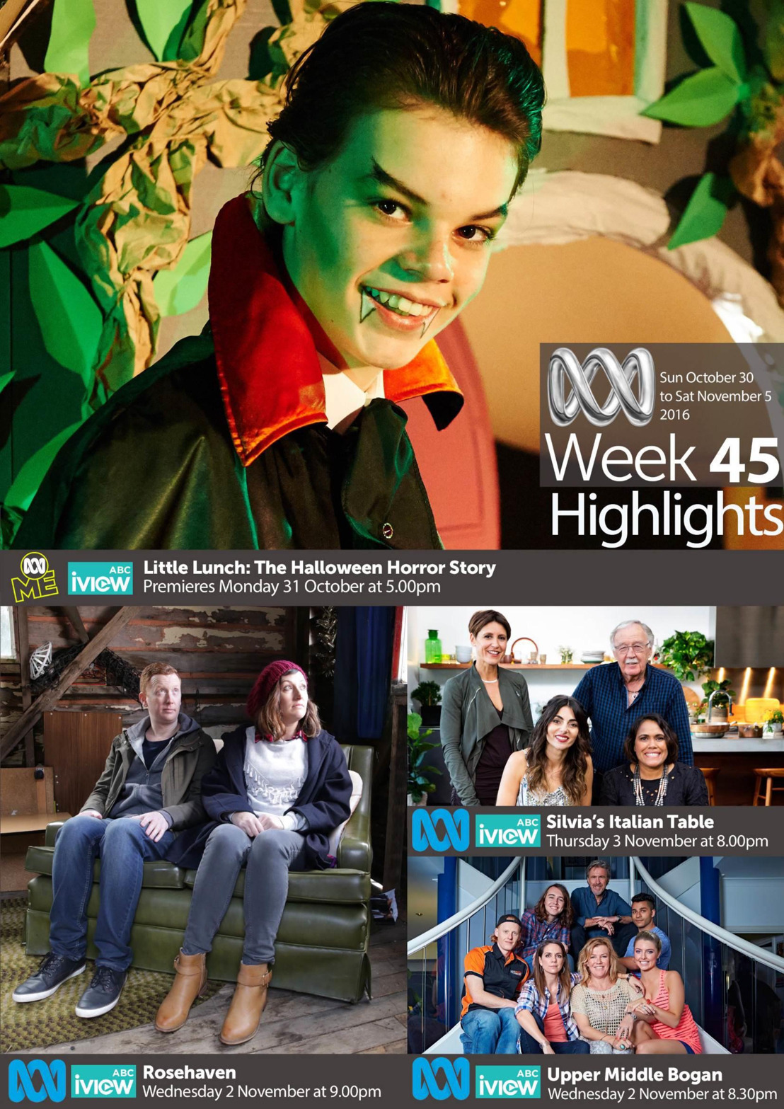 ABC Program Highlights - Week 45