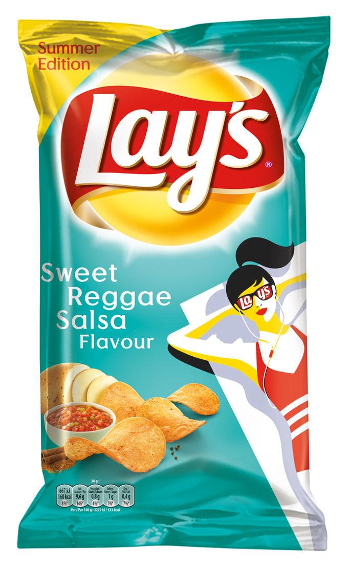 Lay's Summer Editions Sweet Reggae Salsa