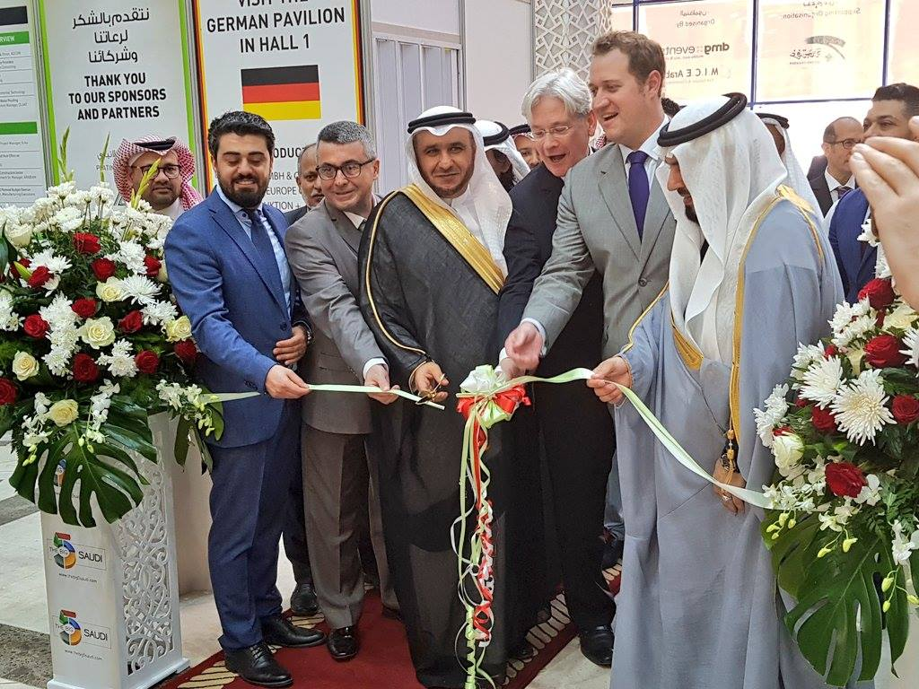 Ribbon cutting at The Big 5 Saudi 2018