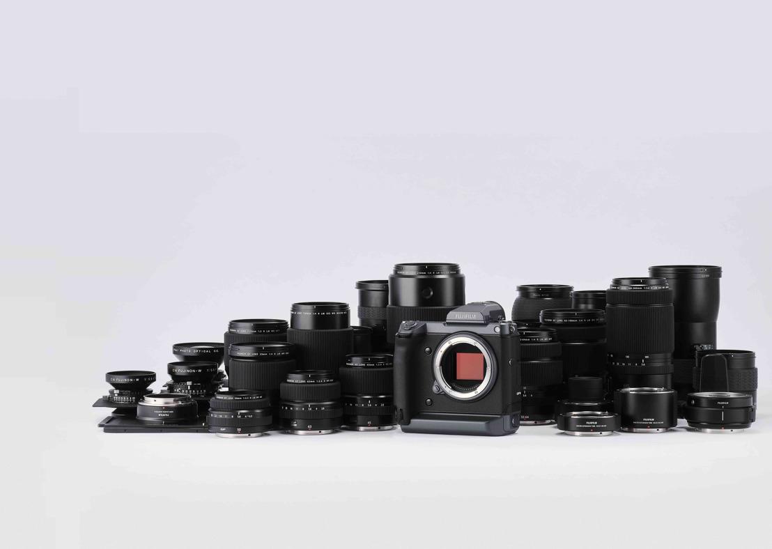 Fujifilm écrit l'histoire avec le GFX100