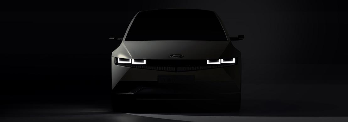 Hyundai dévoile la première image de IONIQ 5