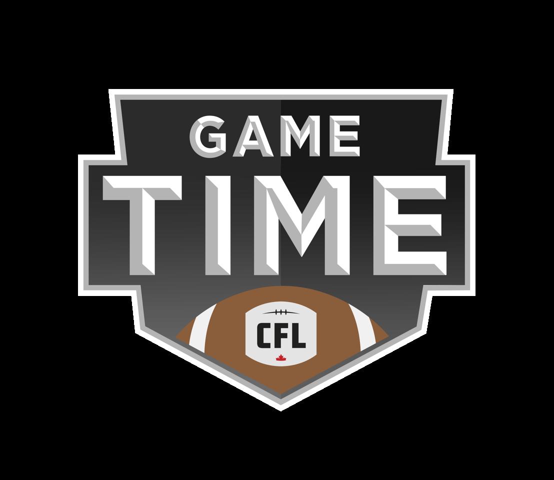 CFL Game Time logo.