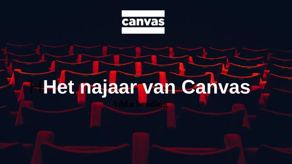Preview: Ontdek het najaar van Canvas