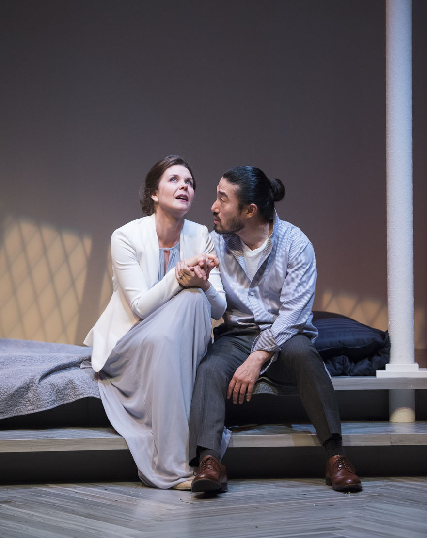 Celine Stubel and Sean Baek in The Last Wife by Kate Hennig / Photos by Emily Cooper