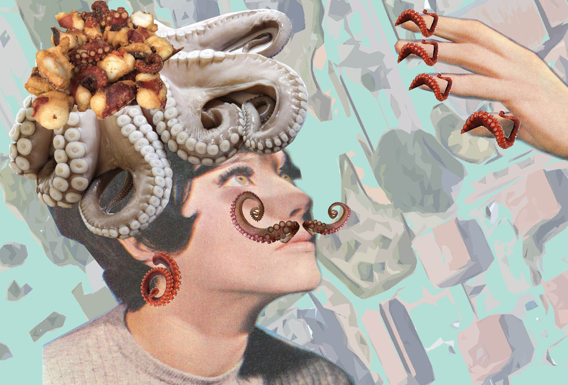 Un artista in residenza, Don Pasta, e il collage di Arc Larue: Sant'Elia si racconta