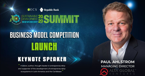 Paul Ahlstrom to deliver Keynote Address at SDM Business Model Competition Launch
