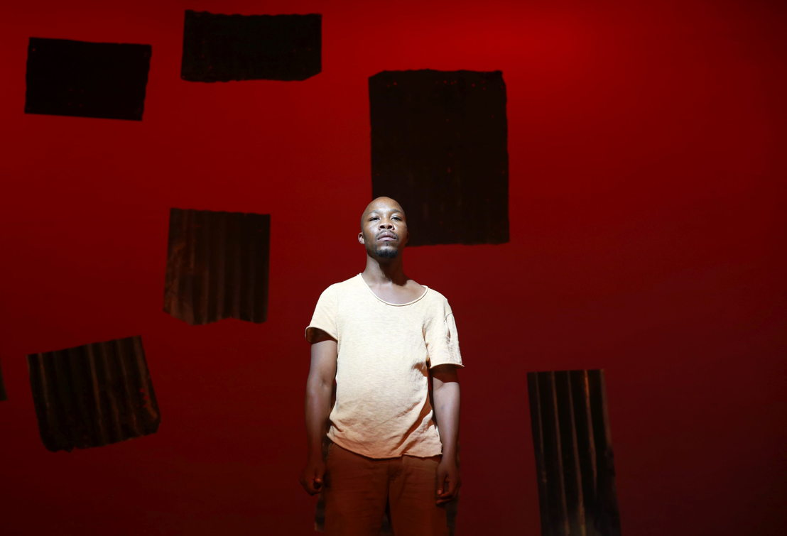 Vuyani Matiwane in Phefumla/To Breathe. Image by Nardus Engelbrecht