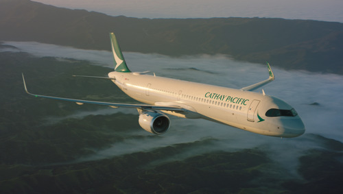 Cathay Pacific déploie l'Airbus 321neo sur son réseau court-courrier