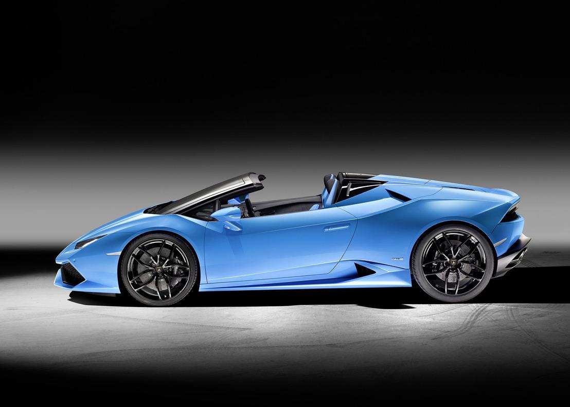 Lamborghini Huracán LP 610-4 Spyder: prestaties en lifestyle onder de open hemel