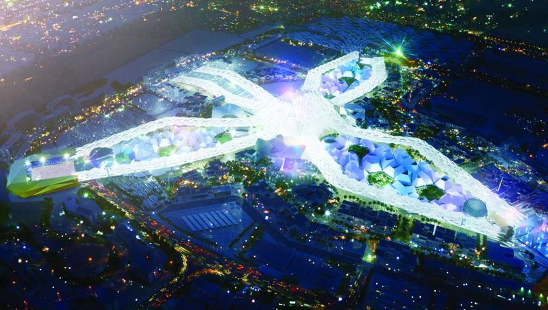 Expo 2020 Dubai project site