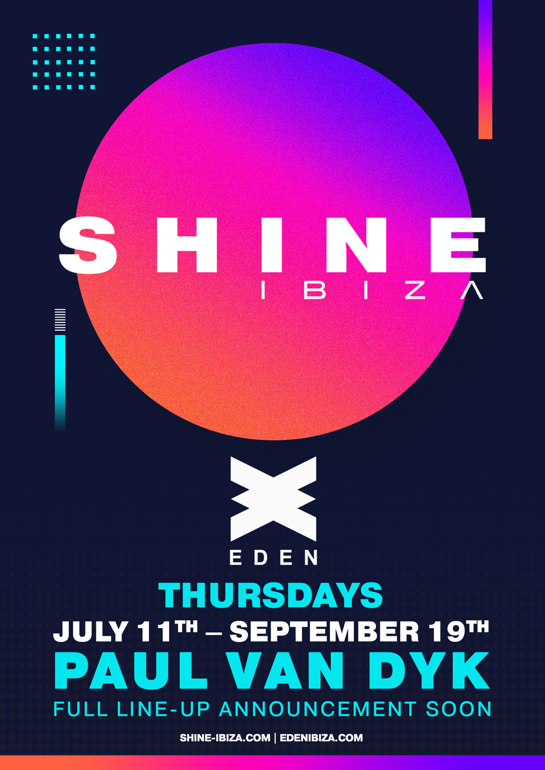 Paul van Dyk Announce SHINE: Season 2 is A Go