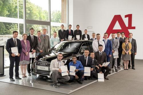 Preview: Audi Brussels breidt opleidingsaanbod geassocieerd onderwijs succesvol uit
