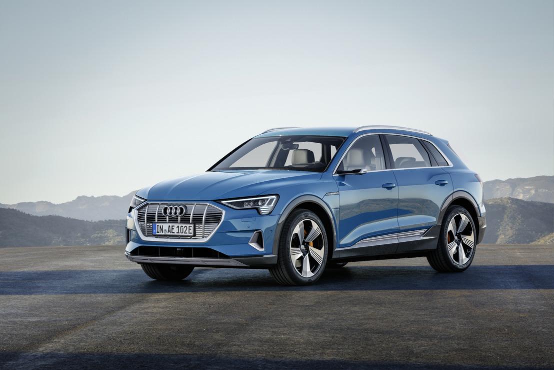 Le plaisir de conduire électrisant : l'Audi e-tron