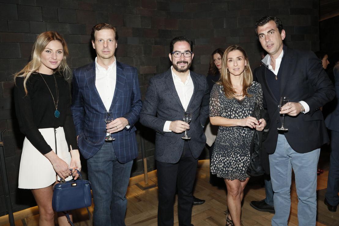 Grace, Santiago Casanueva, Braulio Arsuaga, Rocio Garcia y Alberto Longo