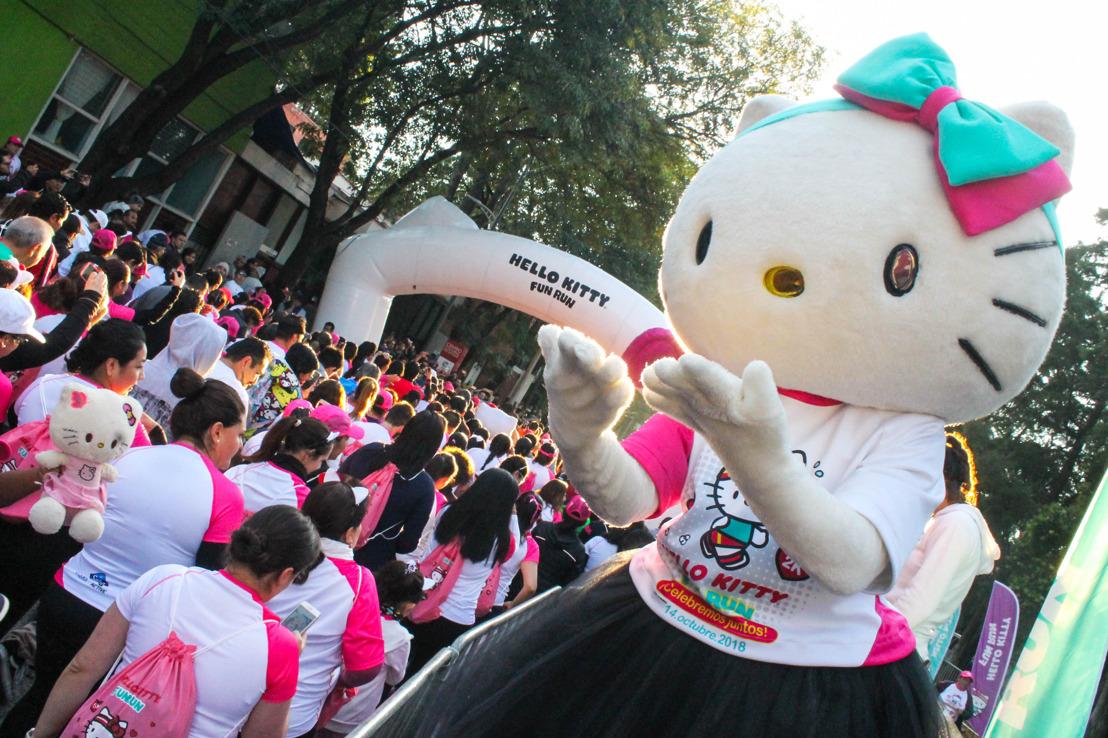 ¡Así se vivió La Gran Carrera Hello Kitty!
