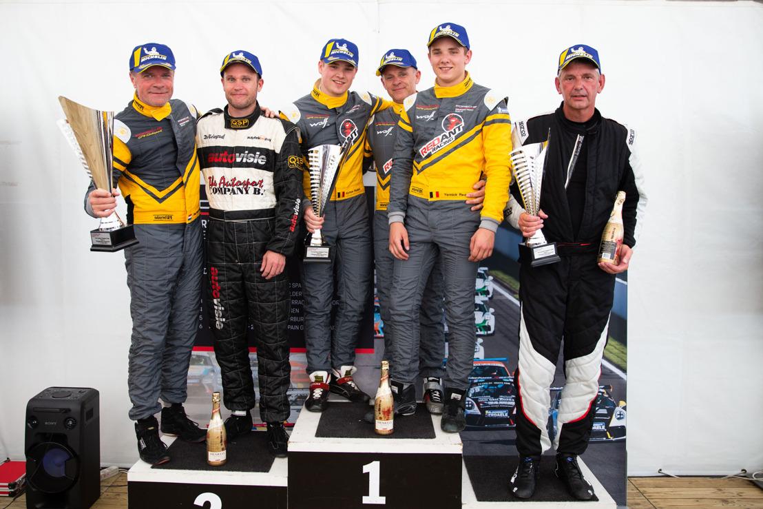 Zegereeks familie Redant in Porsche Endurance Trophy gaat verder