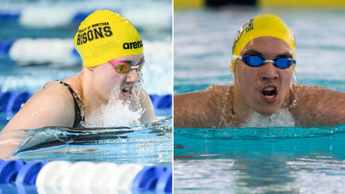 CW three stars: Swimmers top conference podium