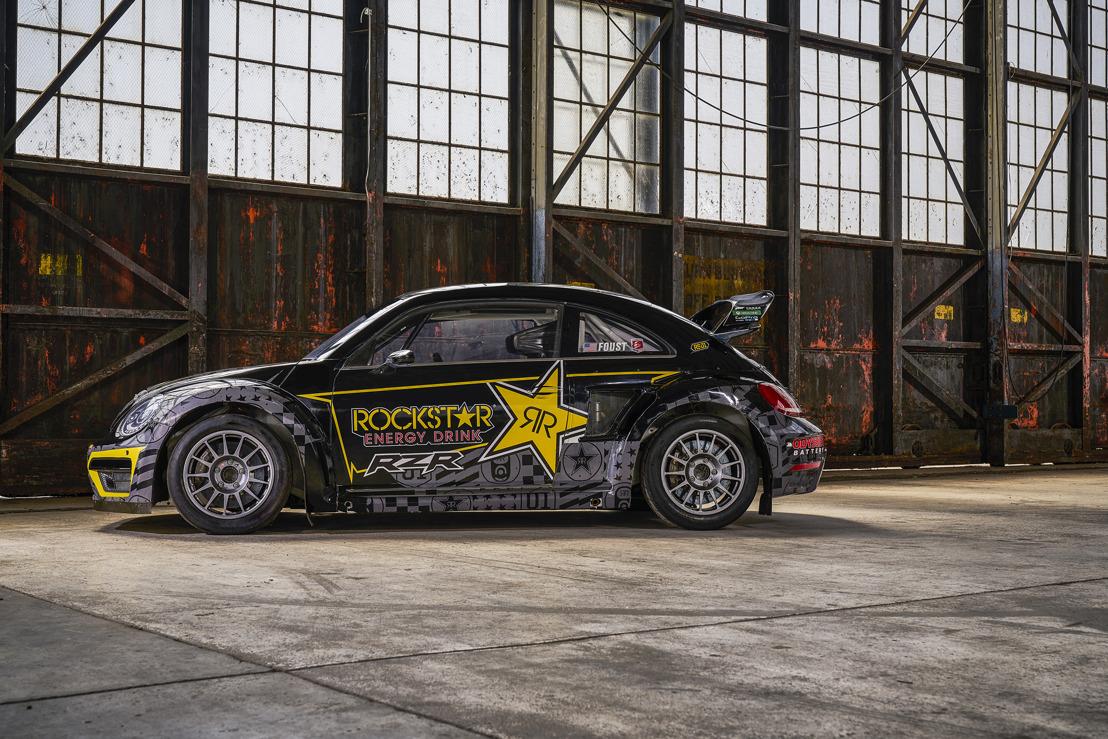 Volkswagen Beetle Supercars competirán en la Serie 2019 Americas Rallycross (ARX).