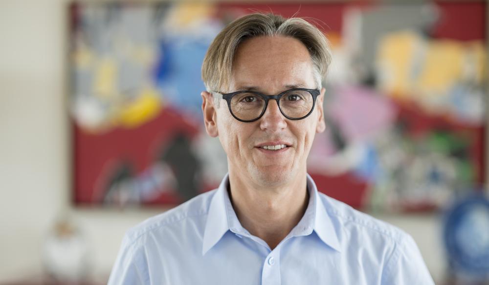 Mario Huyghe, CEO Philips België en Luxemburg