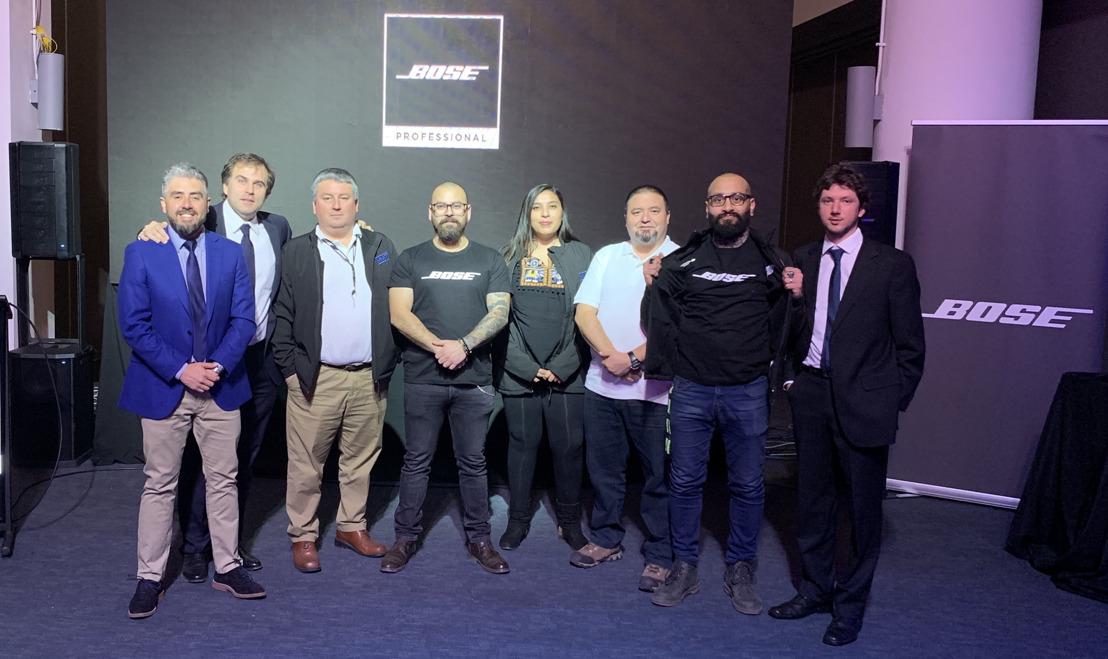 Bose Profesional fortalece su canal de distribución con el nombramiento de MMT como distribuidor mayorista en Chile