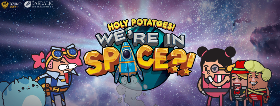 Out now: Holy Potatoes! We're in Space?!
