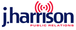 J Harrison Public Relations Group press room Logo