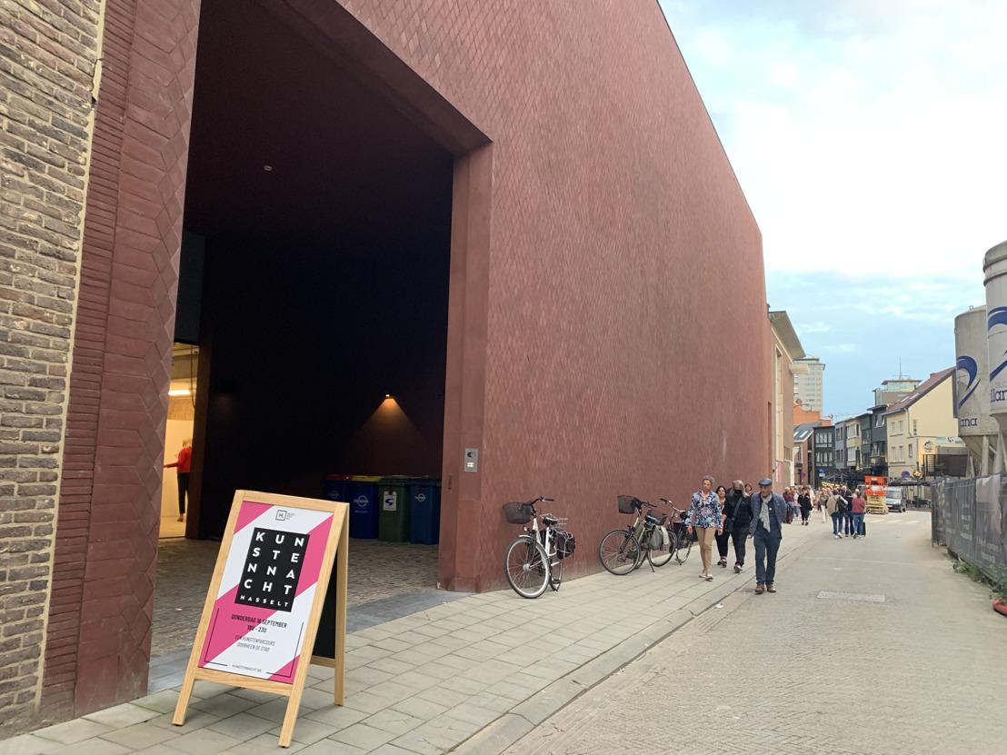 Kunstennacht lokt meer dan duizend bezoekers naar Z33