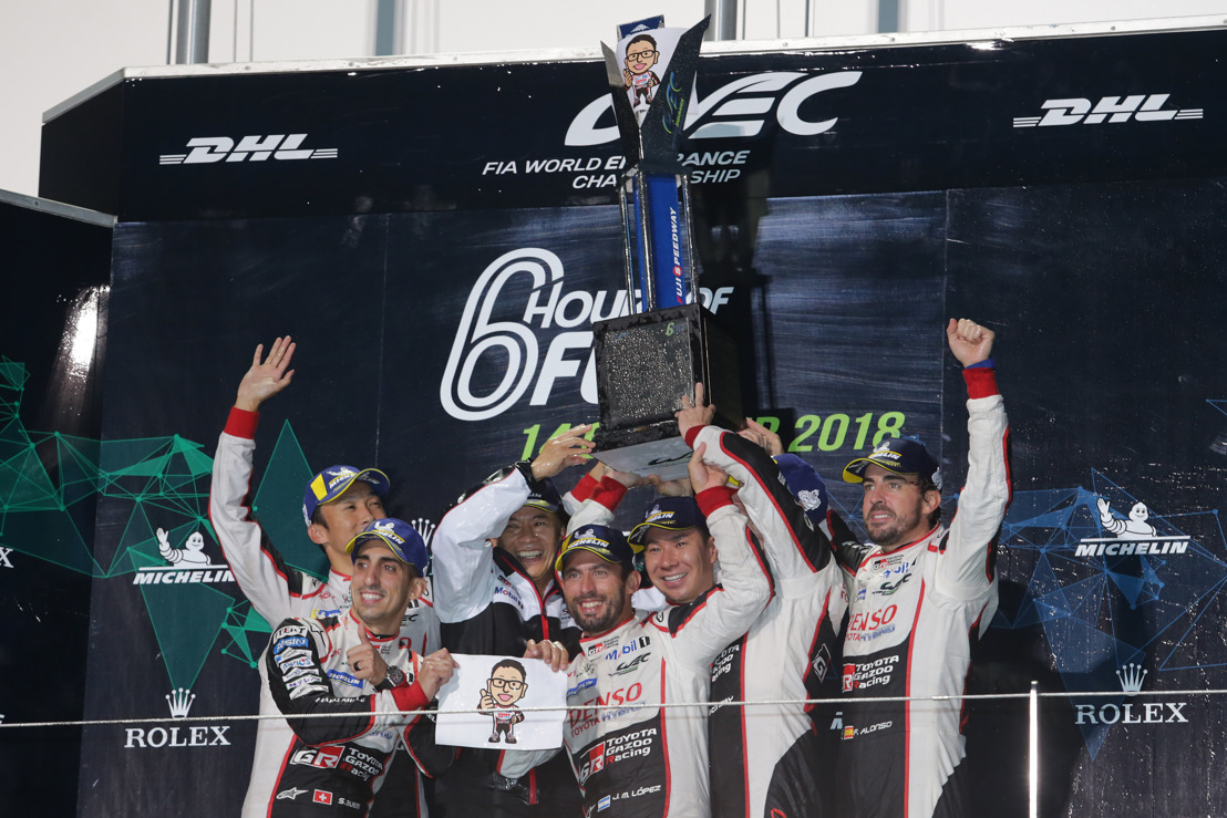 CHINESE WEC CHALLENGE FOR TOYOTA GAZOO RACING