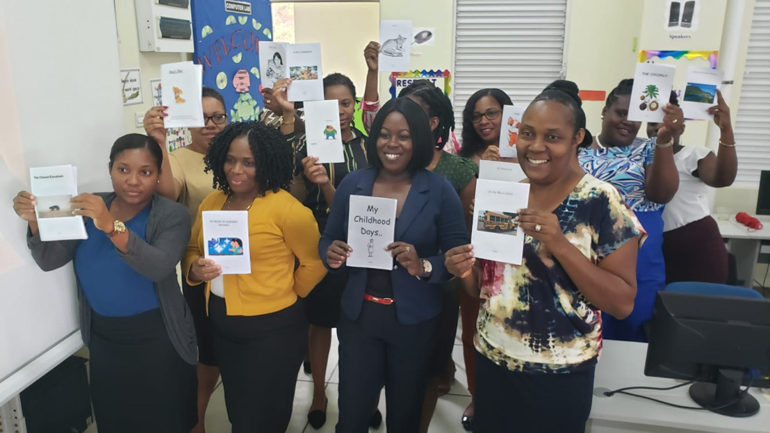 Early Grade teachers in the OECS producing their own culturally relevant books to teach reading!