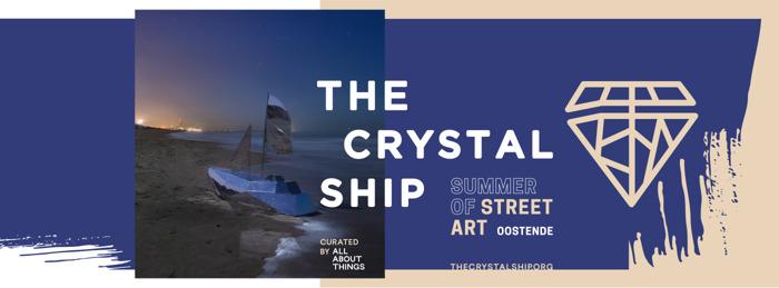 Summer of Street Art: 3 nieuwe werken toegevoegd aan collectie The Crystal Ship in Oostende