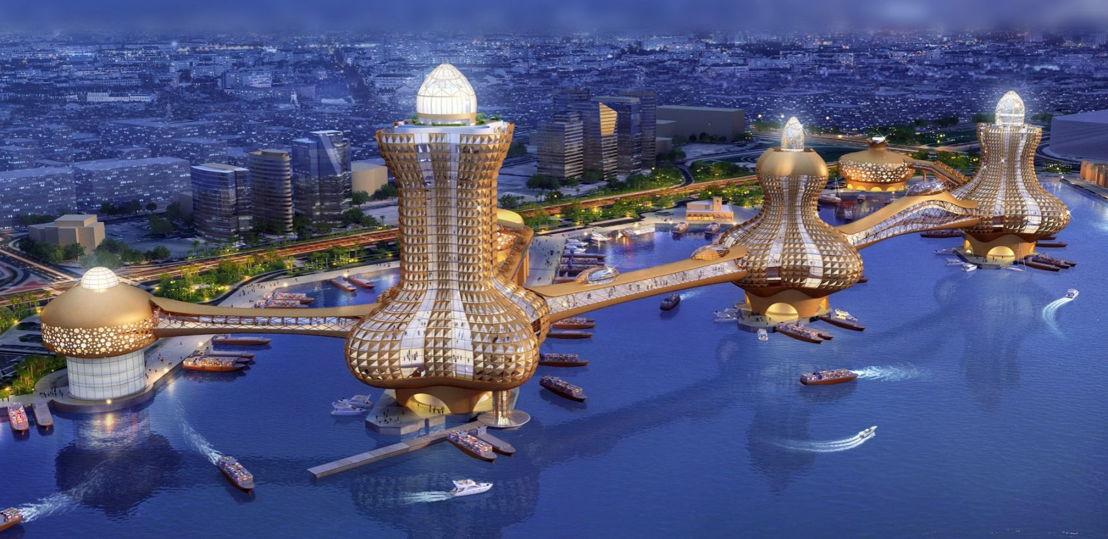 City of Aladdin - Dubai Creek. Estimated completion date: Q2 2020
