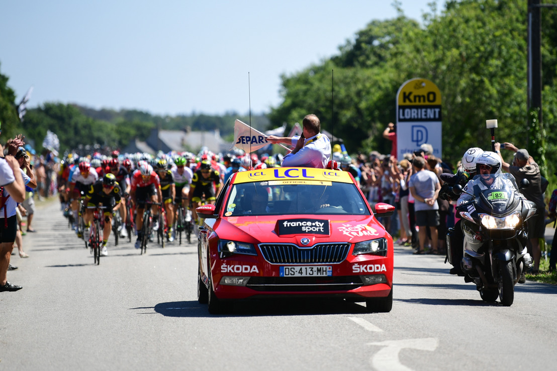 ŠKODA supports Tour de France as the Official Main Partner for 16th time