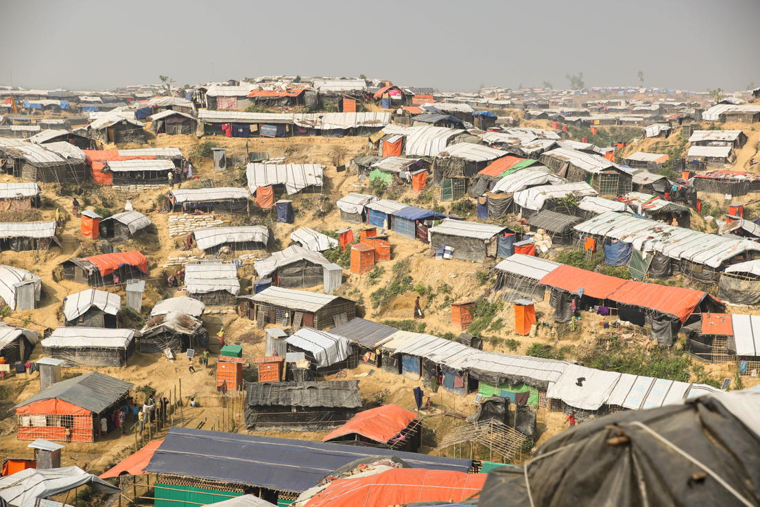 Conditions of life for Rohingya refugees living in the camps in Bangladesh are grim. Photographer: Mohammad Ghannam