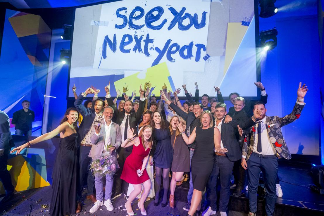 DDB Brussels verkozen tot Creative Agency of the Year