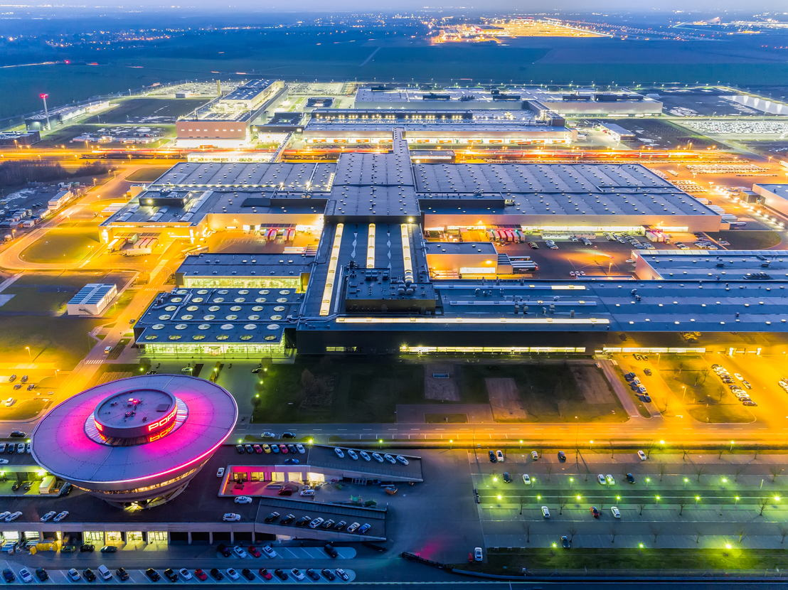Plant overview Porsche Leipzig