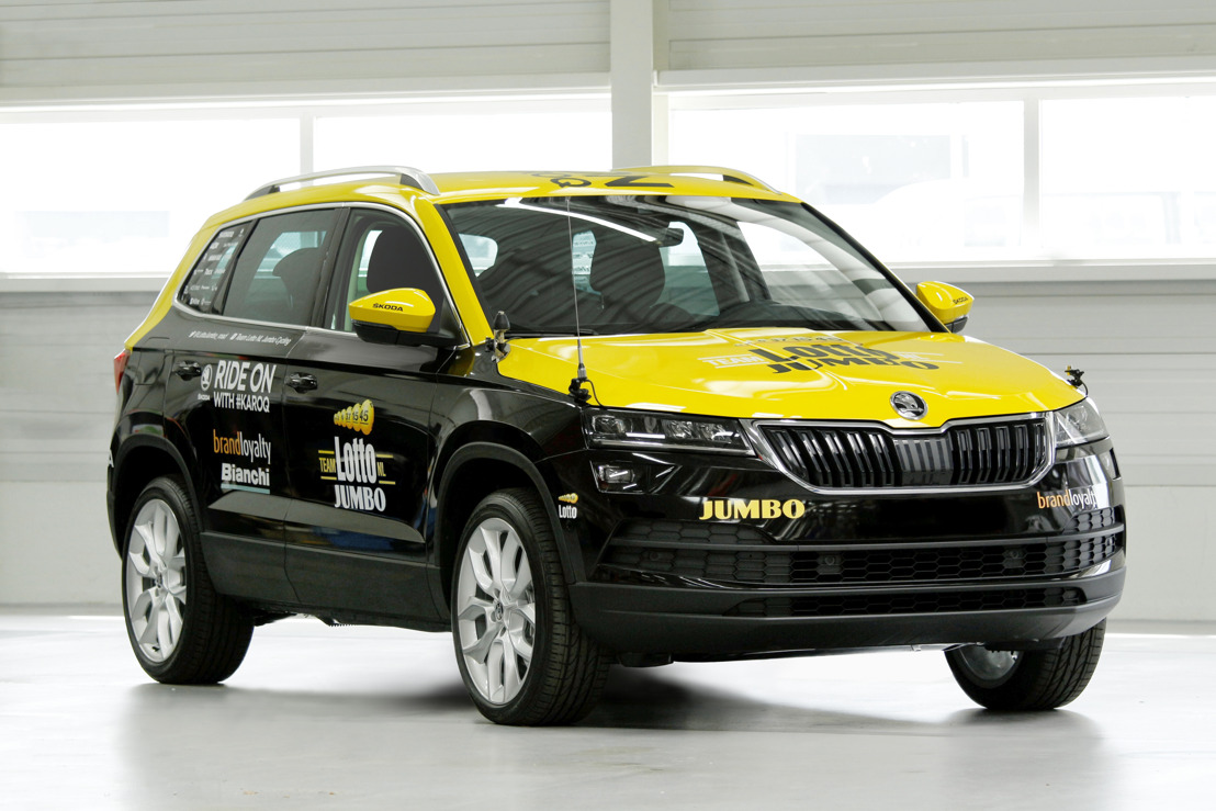 ŠKODA KAROQ ready for the first stage of the Tour de France