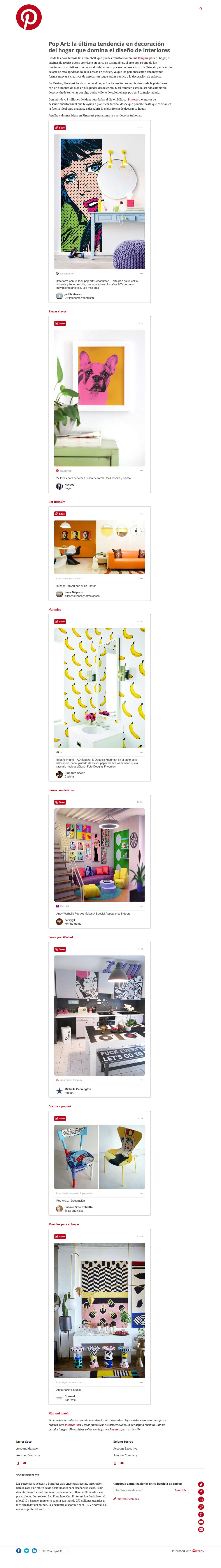 Pop Art: la última tendencia en decoración del hogar que domina el diseño de interiores