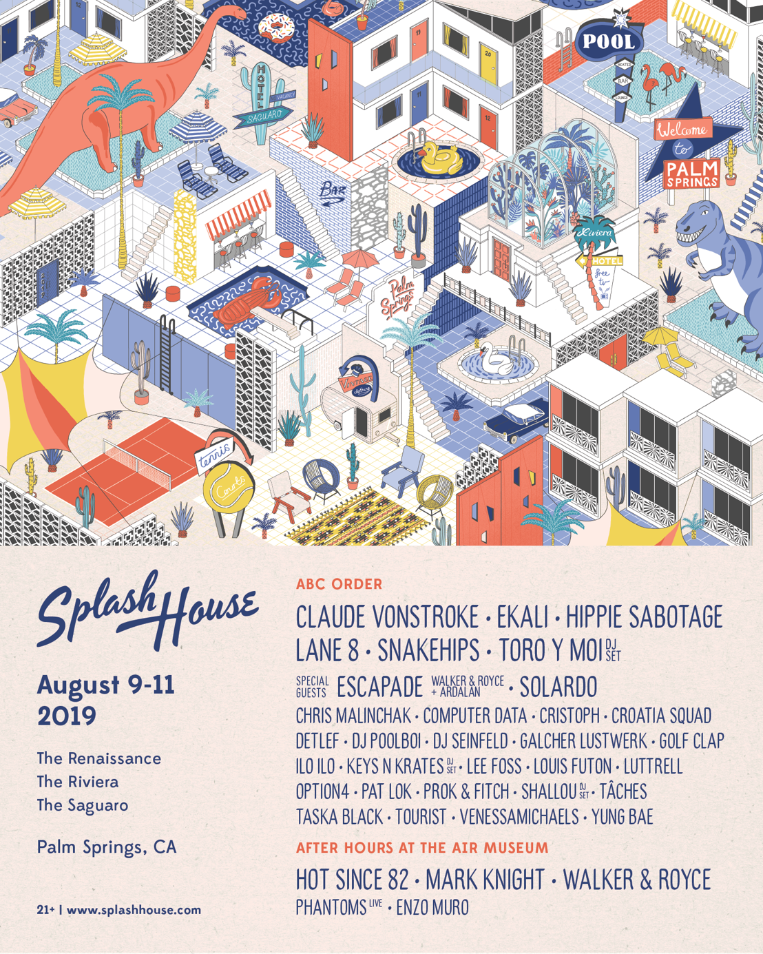 Splash House Announces Lineup for August 9-11th Weekend