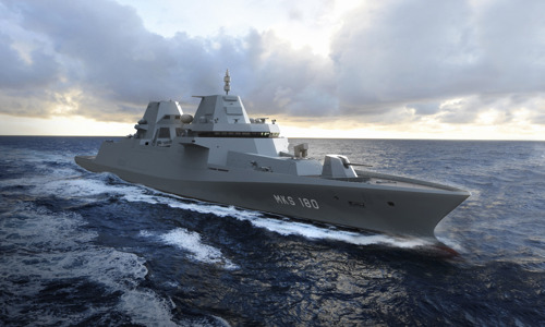 Damen and Thales to build the German MKS 180 frigate of the future