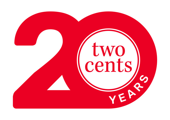 Two cents viert feest
