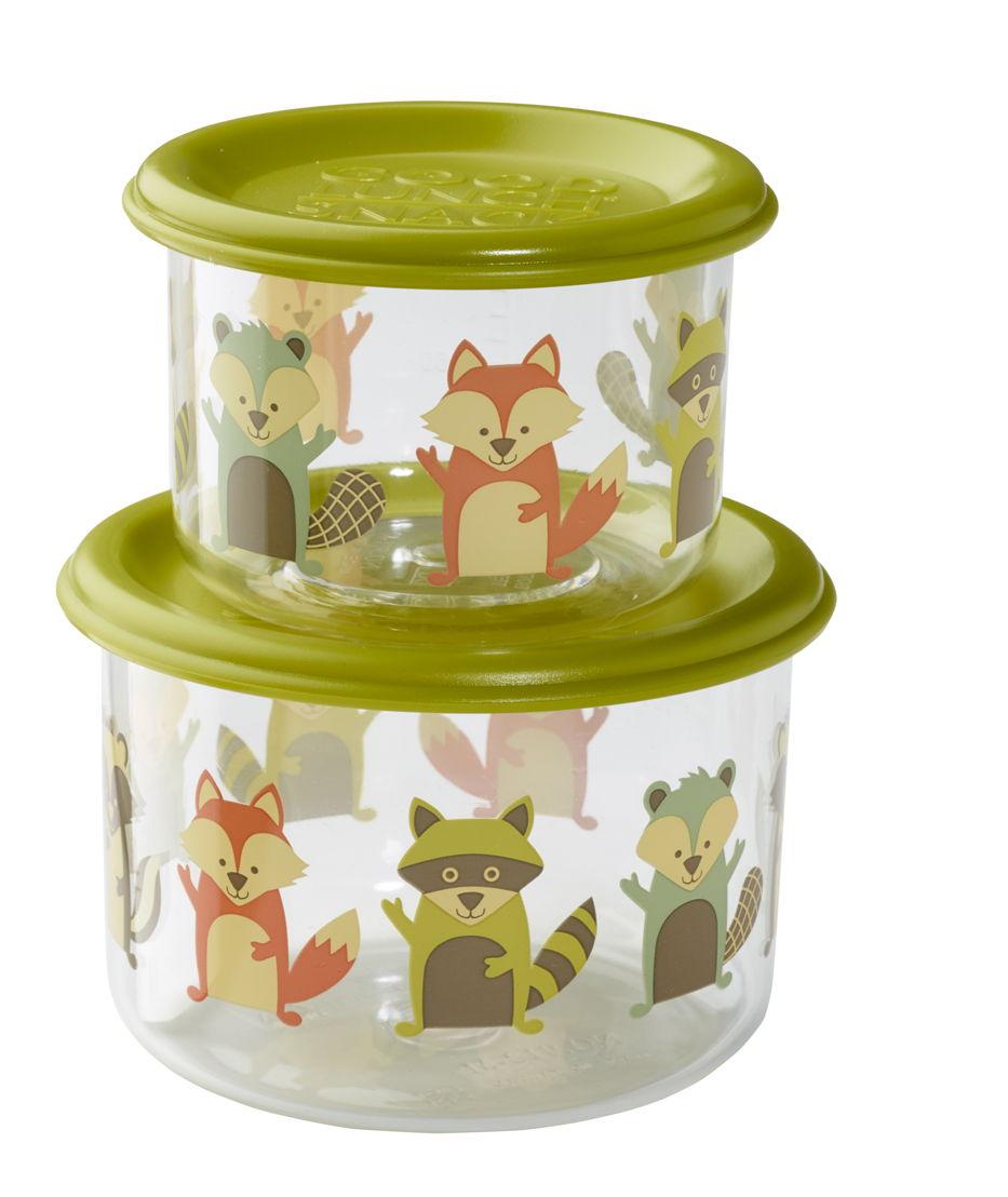SugarBooger set 2 snack doosjes What did the fox eat- €11,95