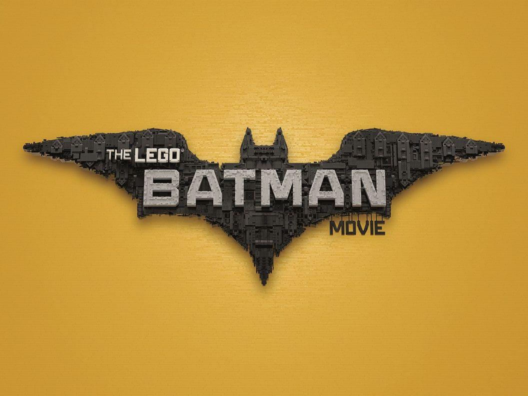 THE LEGO BATMAN MOVIE TITLE TREATMENT