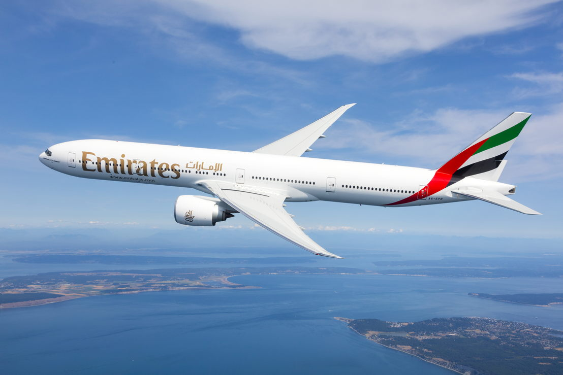 An Emirates B777-300ER
